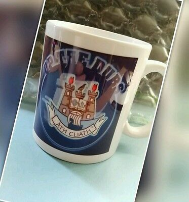 Dublin county GAA Gift 'Up the Dubs ' sublimation graphic Mugs