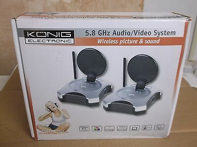 Konig Electronic 5.8GHz Audio/Video System (VID-TRANS510KN)