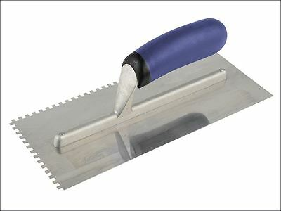"Vitrex - Notched Adhesive Trowel Square 4mm Stainless Steel 11"" x 4.1/2"""