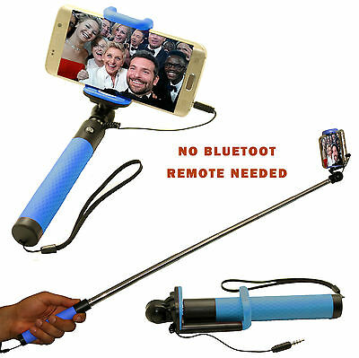 MONOPOD SELFIE STICK WIRED Compatible with all apple Phones and Android Phones