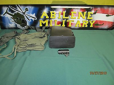 SAW M249 200 Round Ammo Pouch With Plastic Insert, Empty, With Tab Shrike