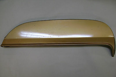 1970-72 Monte Carlo Right Fender Skirt with Seal