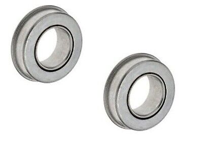 "(Pack of 2) Berliss Slow Speed Flanged Ball Bearing 1-3/8"" OD x 3/4"" ID"