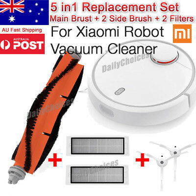 Xiaomi Mi Robot Vacuum Cleaner Accessories Filter Brushes Wall Cover  Virtual