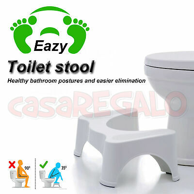 Eco Toilet Stool Most Comfort Sit and Squat Bathroom Potty  NON-SLIP Healthy