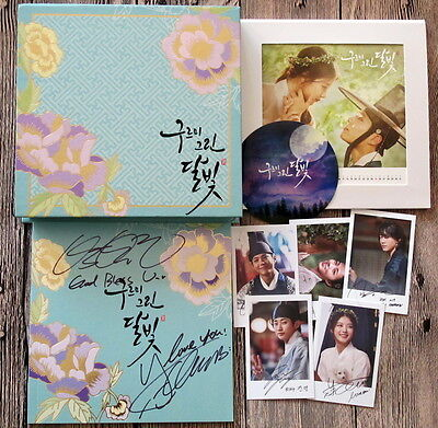 Love in the moonlight 구르미 그린 달빛 autographed Park Bo Gum Kim You Jung 2016 OST