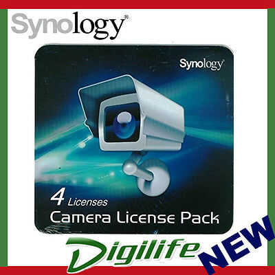 Synology NVR Surveillance Camera License 4 Pack for Synology NAS