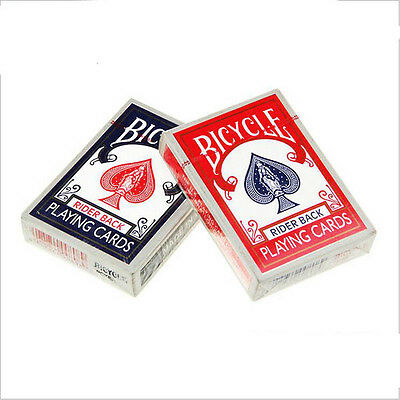 New Red/Blue Paper Exquisite Recreation Home Playing Cards Poker Magic Set