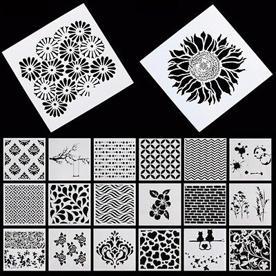 NEW Designs Stencils Airbrush Drawing Masking Decoration Spray Painted Template