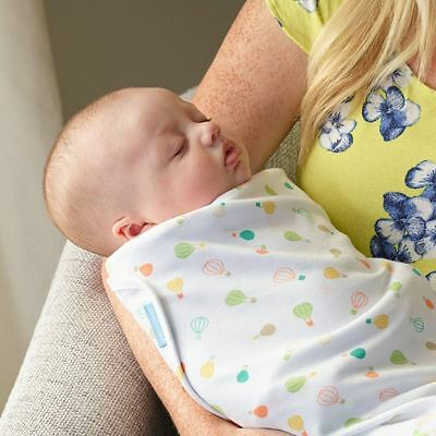 Up and Away Baby Lightweight Sleeping Swaddle Wrap 0-3 Months by The Gro Company