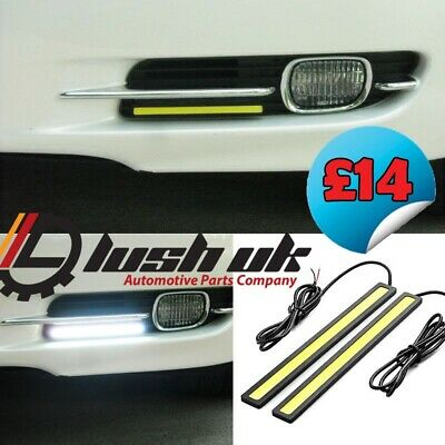*17.4 Cm Cob Bar Drl Daytime Running Lights Universal 12V Waterproof Bumper