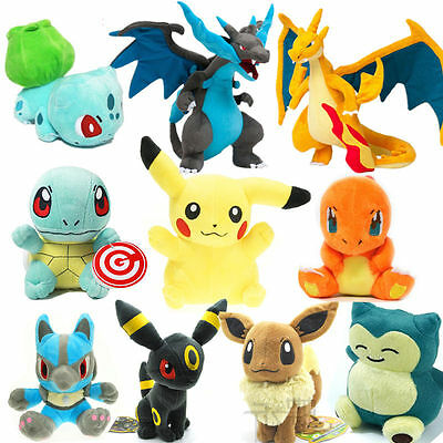 Hot Rare Pokemon go pikachu Plush Doll Soft Toys Stuffed Teddy Kids Gift