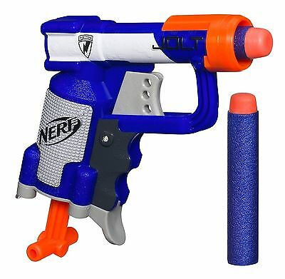 NERF N-STRIKE ELITE JOLT EX1 BLASTER Micro Size Small Stealth WITH 32NO BULLETS