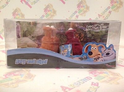Creature Comforts Gary And Nigel Slugs By Aardman RARE HTF NEW BOXED