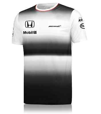 Mens Jenson Button T Shirt McLAREN HONDA F1 T Shirt Formula One Chest M / 38""