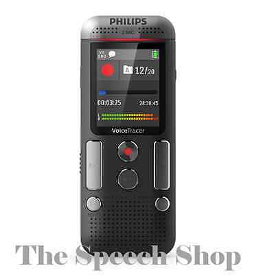 Philips DVT2510 Digital Voice Tracer 8GB Internal Memory ***FREE UK DELIVERY***