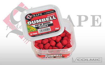 COLMIC DUMBELL POP UP DIPPATE 10/14mm FRAGOLA