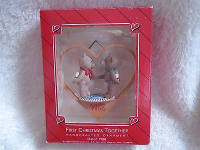 Hallmark 1988 First Christmas Ornament NIB
