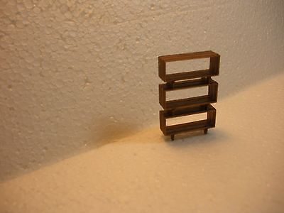 Dollhouse Miniature Quarter Inch Modern Book Case