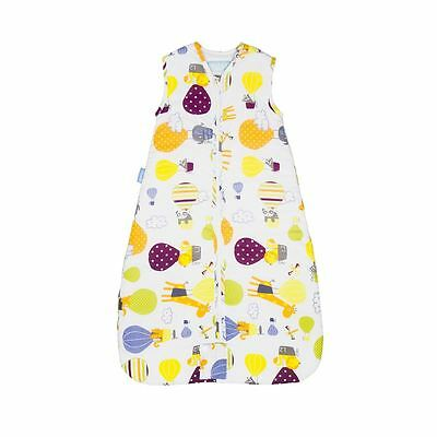 The Gro Company Up and Away Baby Travel Grobag Sleeping Bag Sack - 0-6m, 1.0 Tog