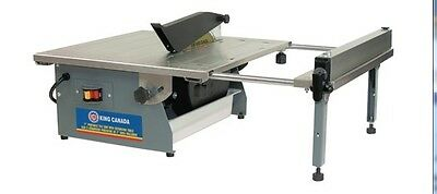 "King Canada Tools KC-3004ST 7"" PORTABLE TILE SAW WITH EXTENSION TABLE Scie 7"""