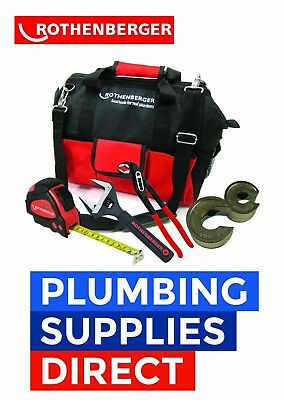 * Rothenberger - Tool Bag - 15-22 pipeslice, 10 SPK Pillar, Wide Wrench, Tape