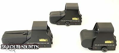 Airsoft 551, 552, 556 type Holographic red & green dot sight + Batteries