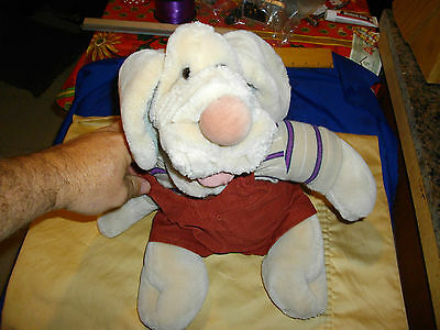 ganzbros wrinkles 1981 dog with clothes and tags the heritage collection beige