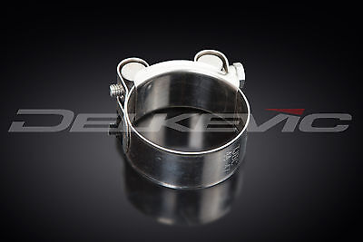 Stainless Steel Exhaust Clamp 52-55mm Fits all Delkevic Mufflers