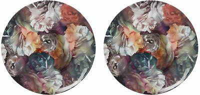 """Ted Baker Technicolour Bloom 8"""" Plate X 2  Brand New Portmeirion Boxed 1St Qty"""