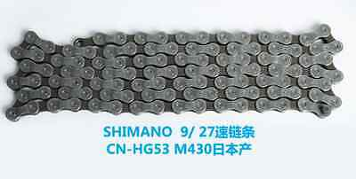 NEW LKLM SHIMANO XT780/785 9/27 CN-HG53 9/27 Bicycle Cycling Bike Chain Steel