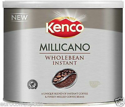 2 x Kenco Millicano Wholebean Instant Coffee 500g, Long expiry date Nov 2017