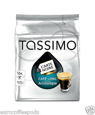 Tassimo Carte Noire Café Long Aromatique Coffee 5 Pack 80 T disc Formally Kenya