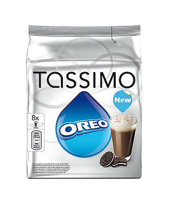 Tassimo Oreo Cookie Hot Chocolate 16 T Disc 8 Servings