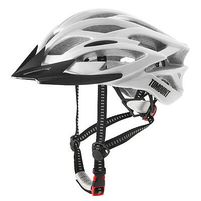 Outdoor Head Protect Road Adult Bike Helmet Mountain Bicycle Cycling White