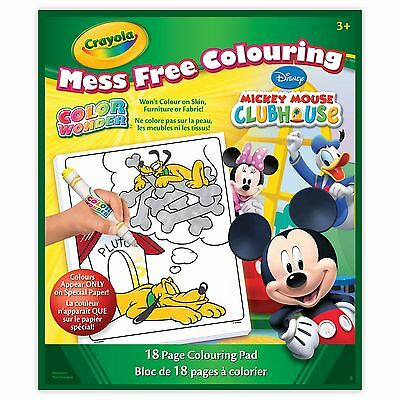 Crayola Color Wonder Book Mickey Mouse Packaging May Vary