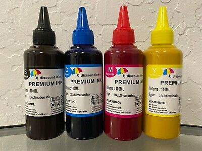 Sublimation Ink For Epson Workforce #252 Ciss Wf-7110 Wf-7610 Wf-7620