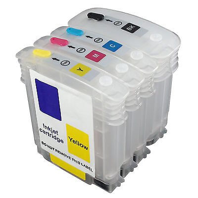 HP 82 11 CH565A C4836 C4837A C4838 empty refillable ink cartridge