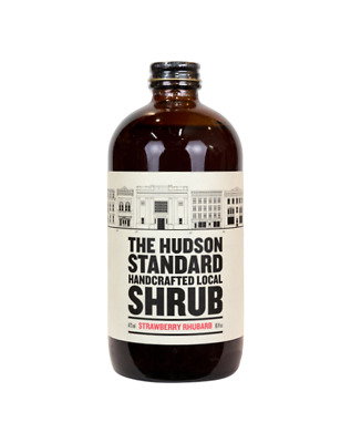 The Hudson Standard Strawberry Rhubarb Shrub 355ml