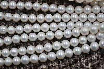AA wholesale 3 strands 9mm round cultured freshwater pearl lots