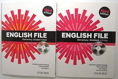 English File Elementray Third Edition Student's Books Workbook With Dvd Oxford
