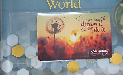 2 x Loyalty Card Holder Slimming World & Weight Watchers self adhesive member