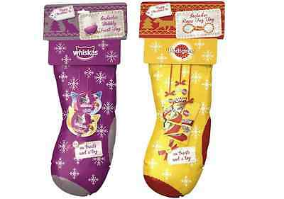Christmas Pedigree Dog Stocking Whiskas Cat Stocking