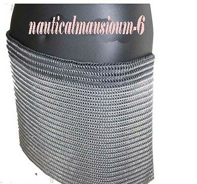 CHAINMAIL SKIRT 10 MM BUTTED MEDIEVAL ARMOURd
