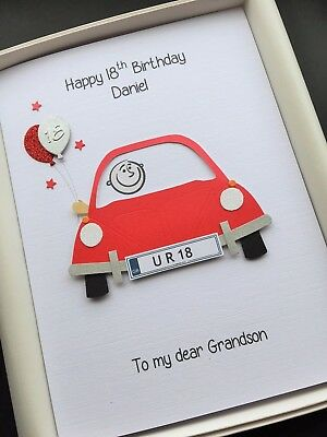 Personalised 18th Birthday Card For Men Son Grandson Brother