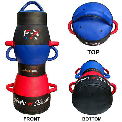 F2X - 3FT Dummy Handle Grappling Bag, MMA UFC Punch Bag Ground & Pound,