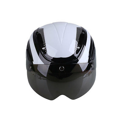 Mountain Bike Bicycle Riding MTB Helmet With Goggles Integrally Molded Safety