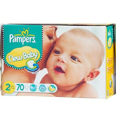 Pampers New Baby Jumbo Pack Size 2 Nappies (74s)