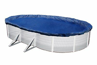 Winter Pool Cover Above Ground 21X41 Oval Arctic Armor 15 Yr Warranty w/ Clips