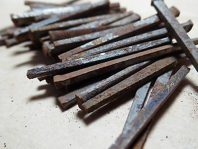 "Antique Square Nail 2.3"" Lot of 70"